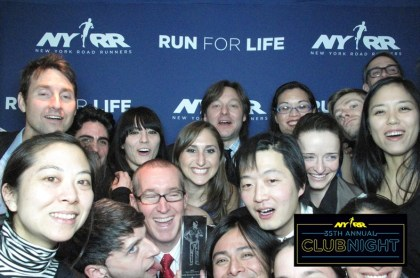 NYRR has a photo booth too